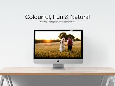 Cassandra Lane Website Design white ui design web minimal typography clean