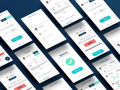 Sale.Rs - Mobile application for salers cursor price app branding apple application product design ux ui