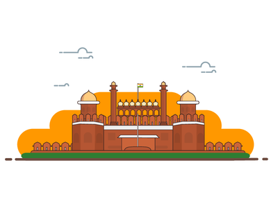 The Red Fort - Delhi,India