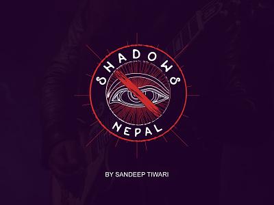 Shadows Nepal by Sandeep Tiwari design nepal pokhara band branding logo devanagari espyctiwa sandeeptiwaristudio sandeeptiwari