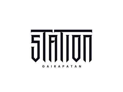 Station by Sandeep Tiwari illustration typography branding pokhara nepal design espyctiwa sandeeptiwaristudio sandeeptiwari