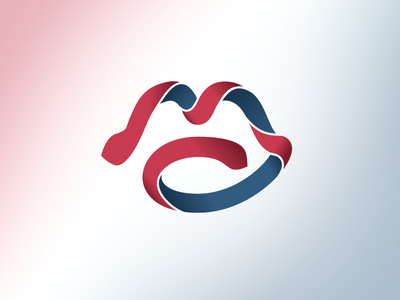 MC Consulting Logo france consulting design graphic icon mark logo branding
