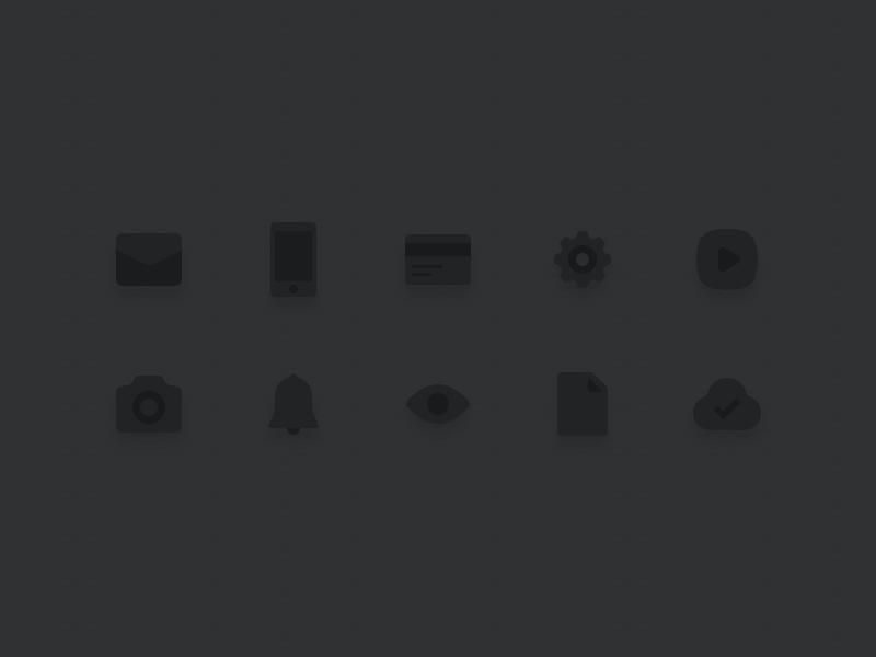 Gray Icon icon