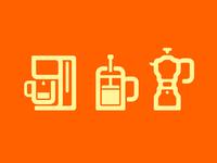 Making Coffee Symbols
