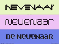 Nevenaar Typegraphic Experiments