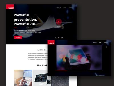 Virsitil_Agency website