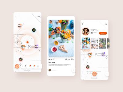Diagraph social app design ux ui design