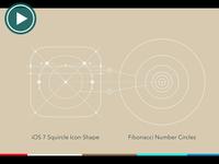 Fibonacci Grid System Motion Animation