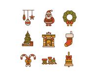 Free 50 Christmas icons