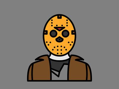 Horror Movie Characters - Jason Voorhees jason icon flat voorhees character movie horror
