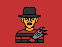 Horror Movie Characters - Freddy Krueger