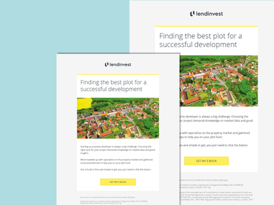 LendInvest Email Download Template email template minimal design marketo template email