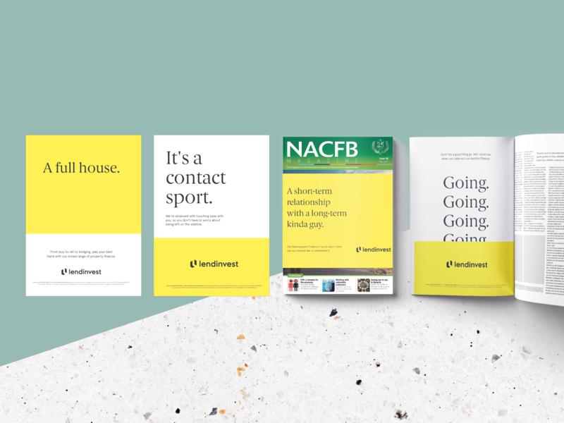 Intermediaries campaign flat design digital advertising graphic design print magazine advertising campaign