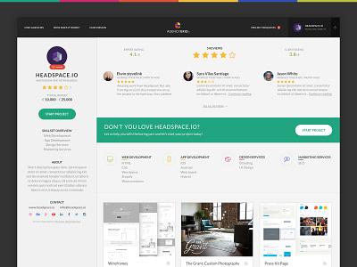 Reviews clean portfolio profile reviews
