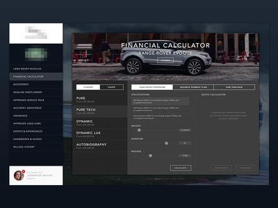 Financial Calculator for Car Dealers