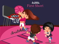 Dribble first short