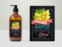 Moisturizing Oil Label Design