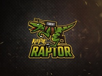 Rapid Raptor Logo Design