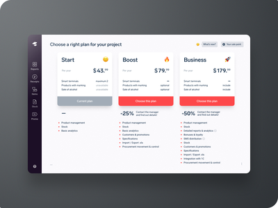 Sigma. Pricing page 💰 ui ux interface sales sale choose plan select plan pricing page payment page pricing