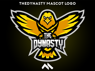 TheDynasty Mascot logo