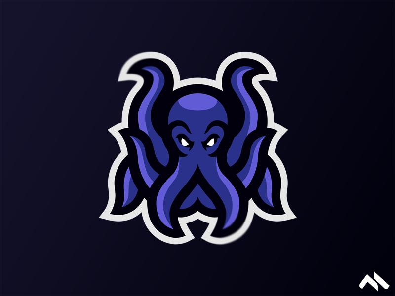 Octopus Mascot Logo illustration identity branding brand art buylogo logomascot mascotlogo mascot logo