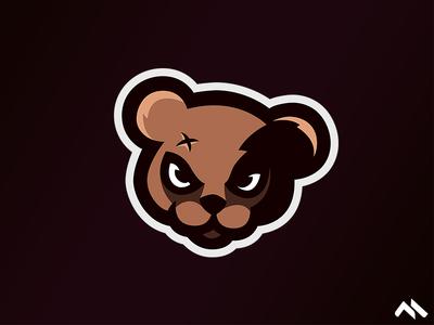 Teddybear Mascot Logo