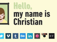 Hello, my name is Christian