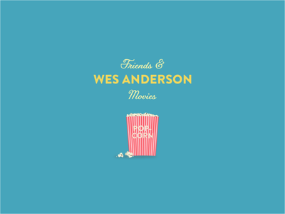 Wes Anderson Podcast Cover