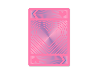 King of Hearts lines negative space playing card playing card king