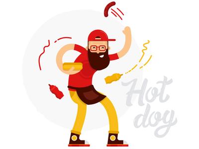 Hot-dog maker