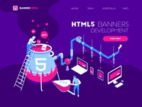 HTML5 banners development