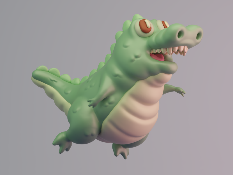 Never stop learning. characters 3d illustration
