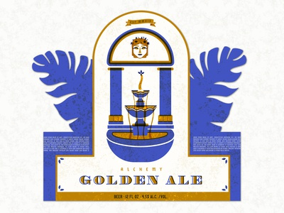 Alchemy Golden Ale Label