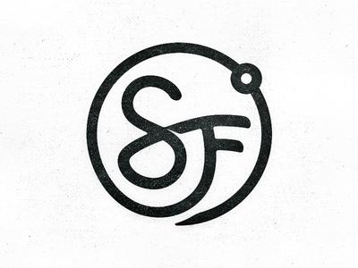 SF˚ Logo - Failed Mark sf san francisco degree icon circle 360 monogram typework studio