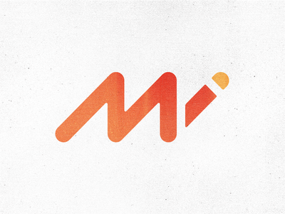 InformaticaMi Logo proposal - Mi Monogram mi monogram computer logo icon branding corporate identity