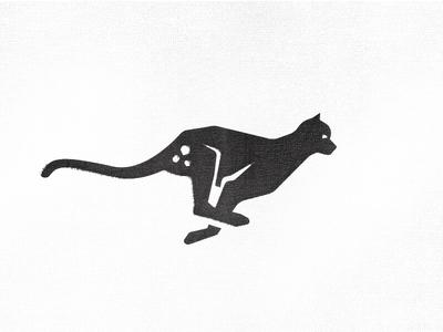Cheetah logo proposal run running panther tiger logo icon cheetah fast cat