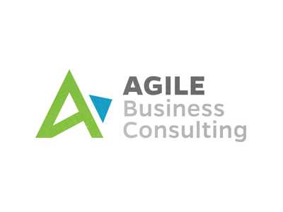 Aglie Business Consulting agile software development agile business consulting icon logo identity