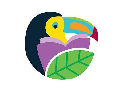 Toucan Reader toucan education schools school early learning early learning center branding logo