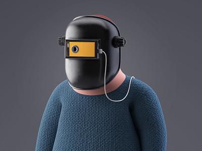 VR Welding Set model 3d illustration welding vr render c4d 3d