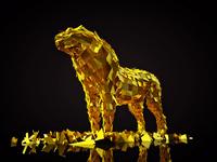 Post-It Lion