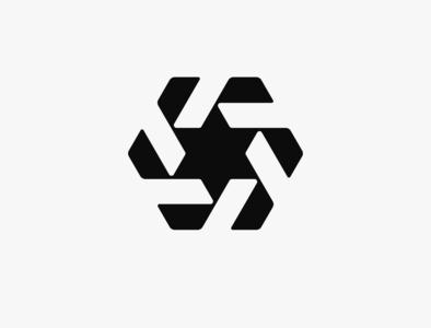 Geometric Mark Exploration minimal logodesign graphicdesign brandidentity logo