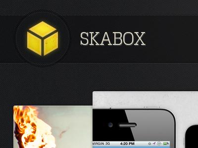 Skabox Logo Hover logo light yellow