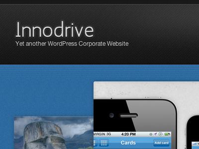 Innodrive WordPress wordpress blue black