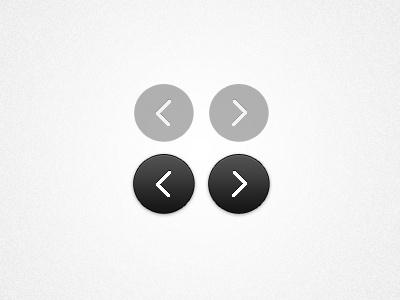 Twitter Prev.-Next psd button