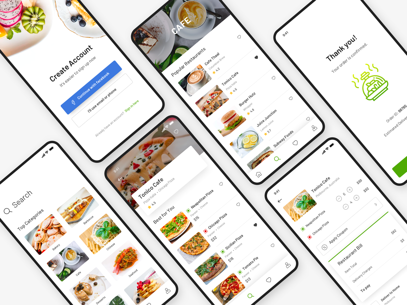 Food delivery app 2x
