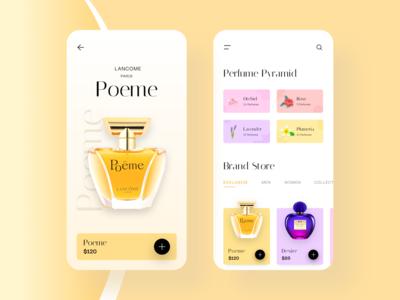 Perfume App UI
