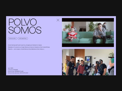 Katz Estudio website — Projects projects web ui portfolio web design