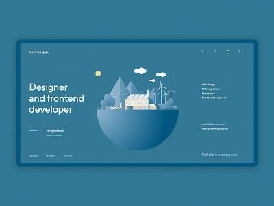hg coming soon 2 debuts portfolio coming soon page ui web design