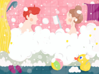 Bath with you