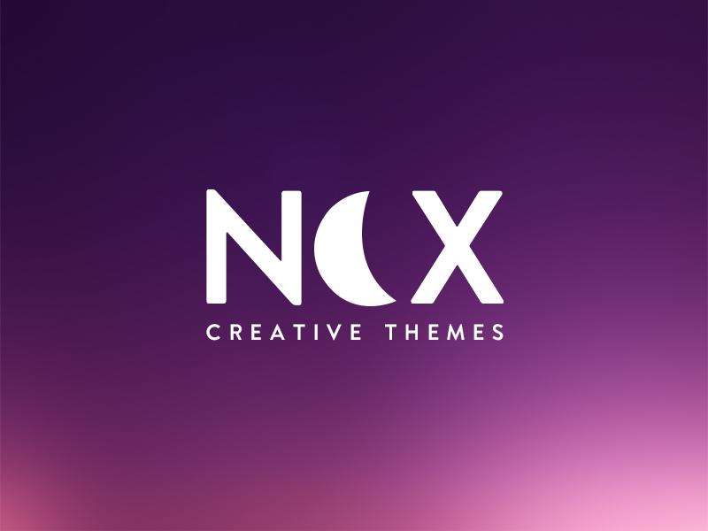 Logo Nox branding logo. brand